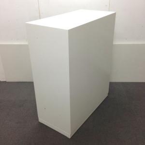 【5台入荷!】コクヨ製「EDIA」シリーズ!綺麗なホワイトの3枚引き違い書庫![EDIA](中古)