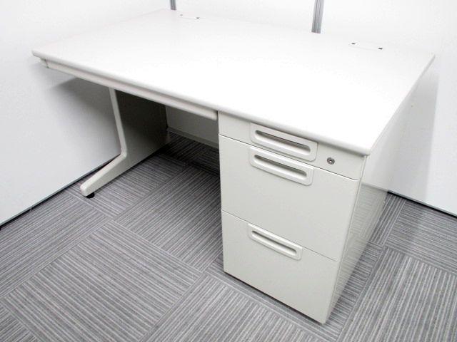 プラス(PLUS)製片袖机 お問い合わせの多い幅1200mm!使い勝手の良い片袖机が揃います!!