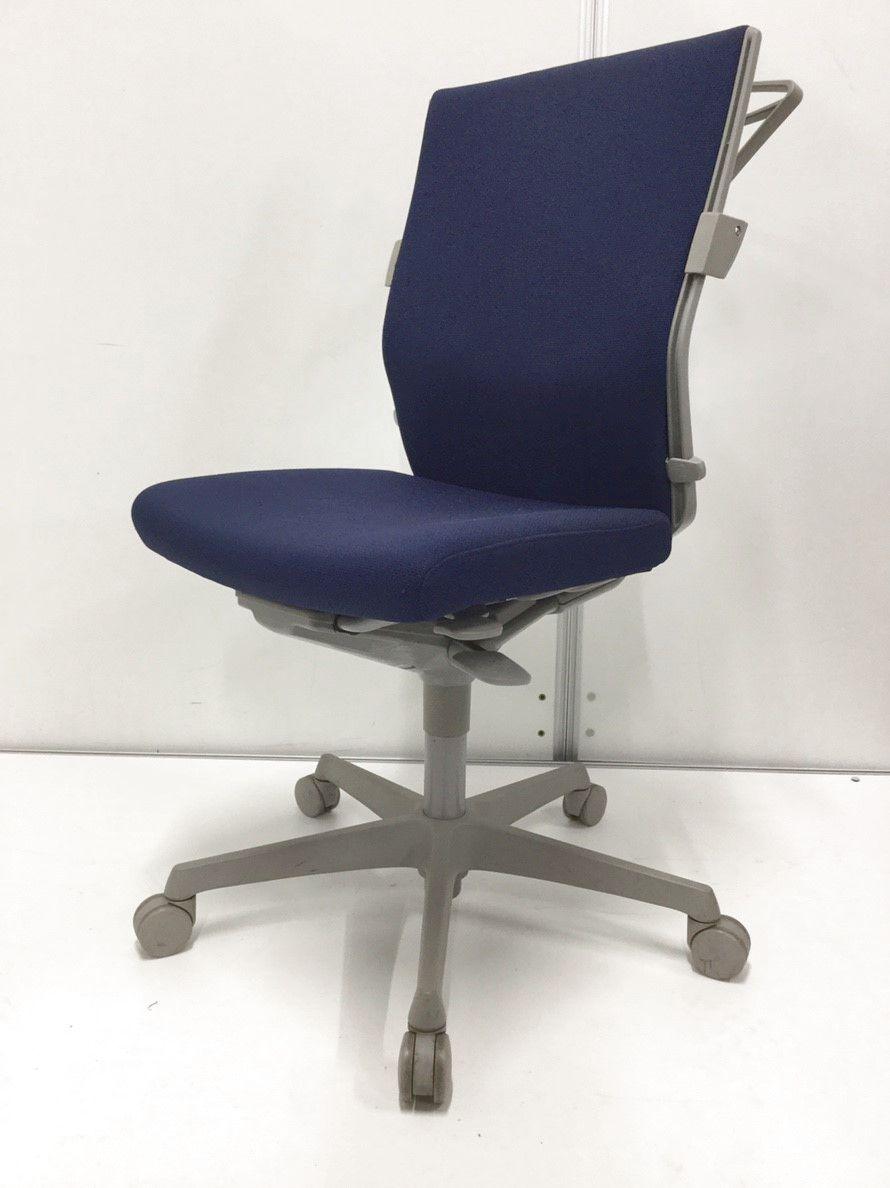 【現行商品!!】暗めブルーなのでオフィスに合わせやすい!冬に役立つコートハンガー付き!