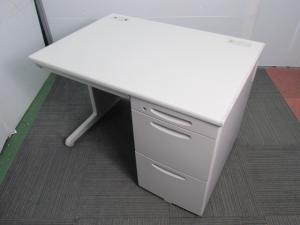 【コンパクトサイズ】定番オフィスデスク オカムラ製SDシリーズ 片袖机[SD Desk system](中古)