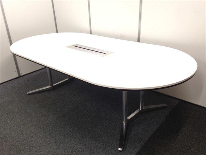 【限定1台!】お問い合わせの多い大型テーブルが入荷です!■オカムラ製・ラティオ【2100mm】