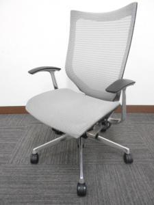 【座面もメッシュ】オカムラ製中古オフィスチェア バロン 肘付 高級チェア