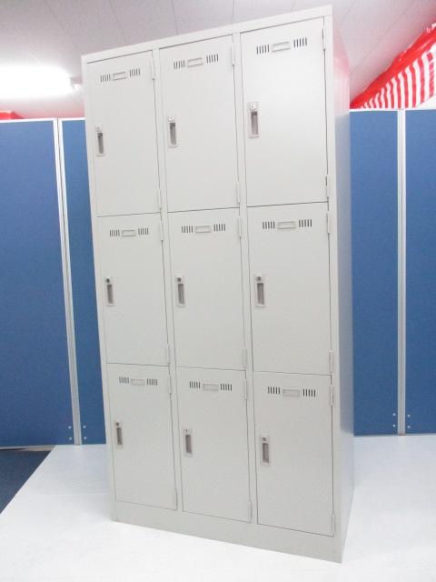 これ1台で9人分!収納スペースを有効活用できる9人用ロッカーが入荷しました!