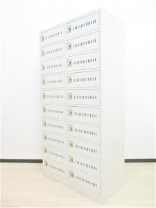 【¥14,800円在庫品に限り】希少20人用ロッカー[奥行450]珍しい商品の入荷です!省スペースを有効活用できる多人数ロッカー