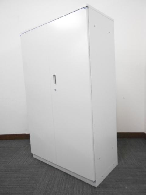 【棚板3枚】イトーキ製中古単体書庫 シンライン ホワイト色 天板付き