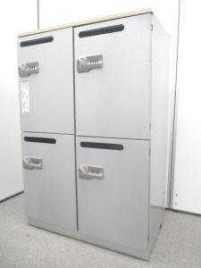 【ロッカーに入れたまま充電できる!!】内部にコンセントが付いているメールロッカー