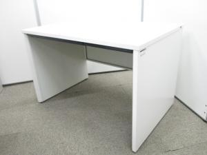 【パネル脚仕様】デザイン性の高いパネル脚ホワイトデスク|イトーキ CZR|【Ω】