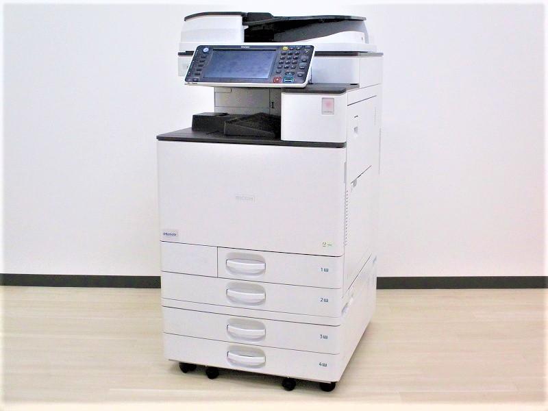 【残り1台‼】[業務用コピー機][印刷出力枚数分速30枚]リコー製 MPC3003【Ω3入替品】