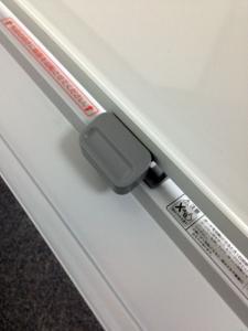 【2台入荷】広々盤面の両面タイプホワイトボード!!事務所に1台必須商品!!|その他(中古)