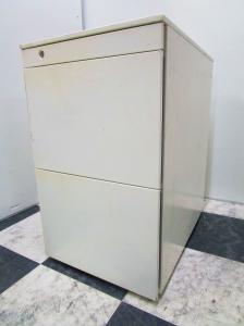 フリーアドレスデスク用 3段ワゴン オカムラ製プロユニット デスク周りの収納に是非【β】