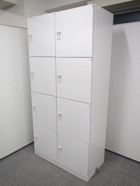 【8人用ロッカーパーソナルロッカー!】■ウチダ製 ■書類・荷物の個人管理にも使えます! ■ダイヤル式なので鍵の紛失の心配無し!