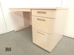 5台限定!!【パソコンを置いても広々使用できる国内メーカーの機能・収納性です!!】■ニューグレー ■国内メーカー