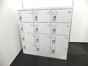 【新古品で使用感ほぼなし!】小スペースに大人数のものを収納!12人分収納できるシューズボックス!