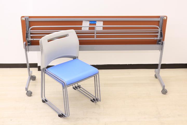【会議用テーブル&チェアセット!!お得な10%OFF!!】会議室新設はもちろん、休憩室や塾にもオススメ!!