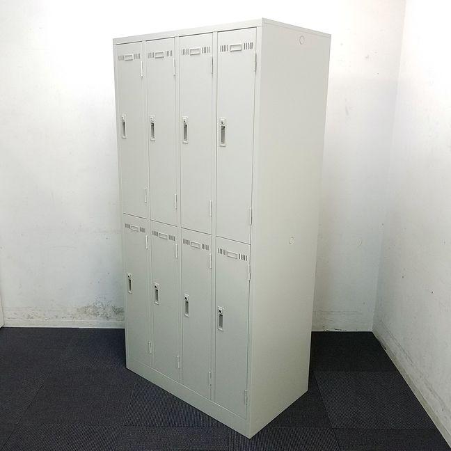 【1台入荷】人気の8人用ロッカーが限定入荷!中古 オフィス家具 リサイクル
