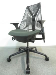 【上質で美しいデザイン!】■SAYL Chair(セイルチェア) ダークグリーン ■HermanMiller(ハーマンミラー)