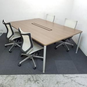 【2台限定】オカムラのセット販売始めました!中古 テーブル 高級チェア オフィス家具 リサイクル