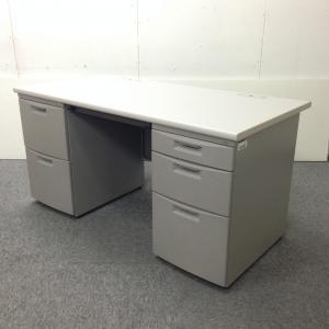 【5台入荷!】|両袖机|事務机|広々使えて上長席用にもおすすめ!
