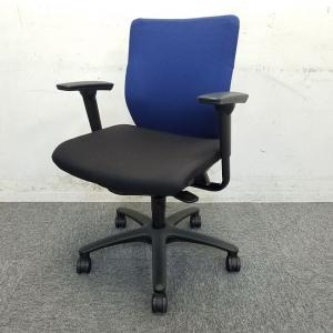 【6脚入荷】オカムラ製|アドフィットチェア|ブルーxブラックの定番オフィスチェア入荷致しました!