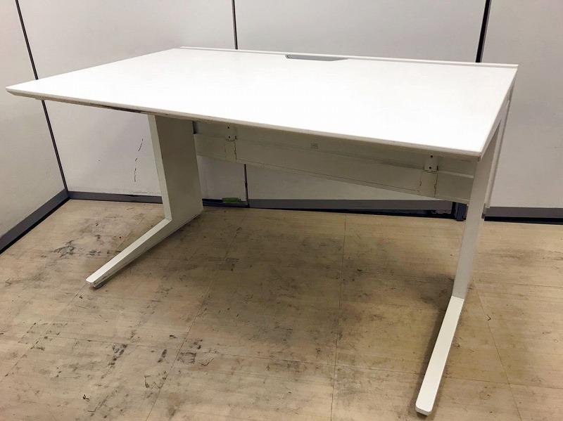 【在庫入替品】オカムラ製 平机 プロユニット 幅1200㎜|人気のホワイト