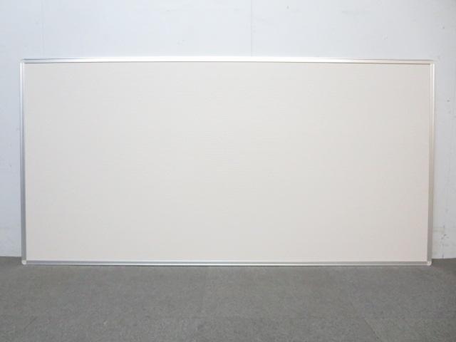 【マグネットとピン両方使用可能!】■掲示板ボード(壁掛け用)W1800mmタイプ ■状態良好!お得な未使用品!