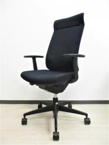【1脚限定!】ヘッドレスト付きなのに低価格でカッコイイ!座り心地のいいクッション!