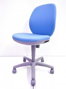 [2015年製]事務椅子 オフィスチェア 肘なし ローバック[ローコストチェア]