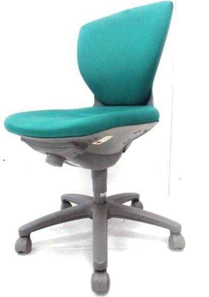 【大量入荷!今ならお安くまとめて揃います!】 コクヨ製ジオナードチェア/オフィスに彩りを演出する人気のグリーンカラーです!