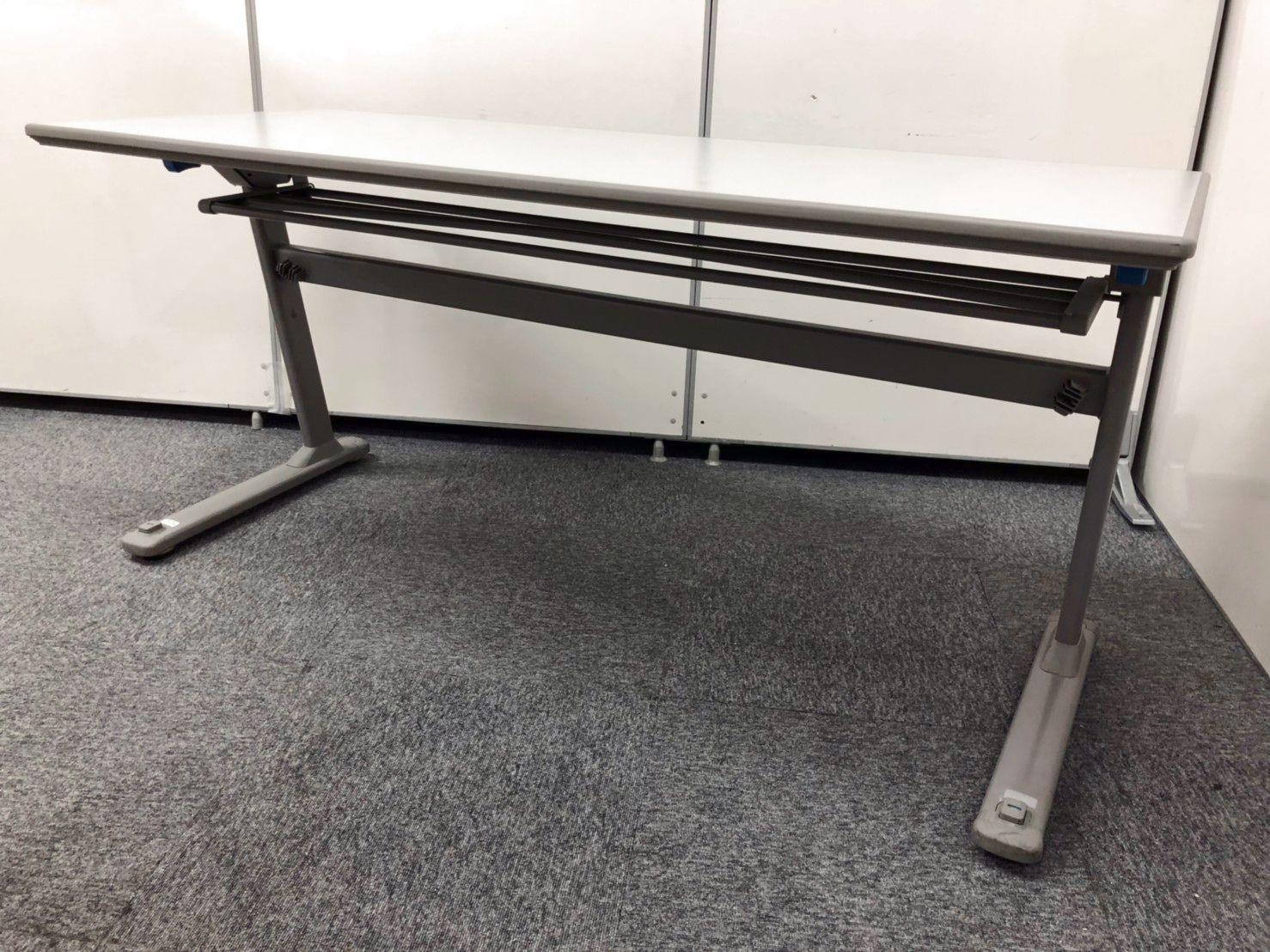 2名掛けの折り畳み可能|会議室や研修室にもっていこい!!|KT在庫