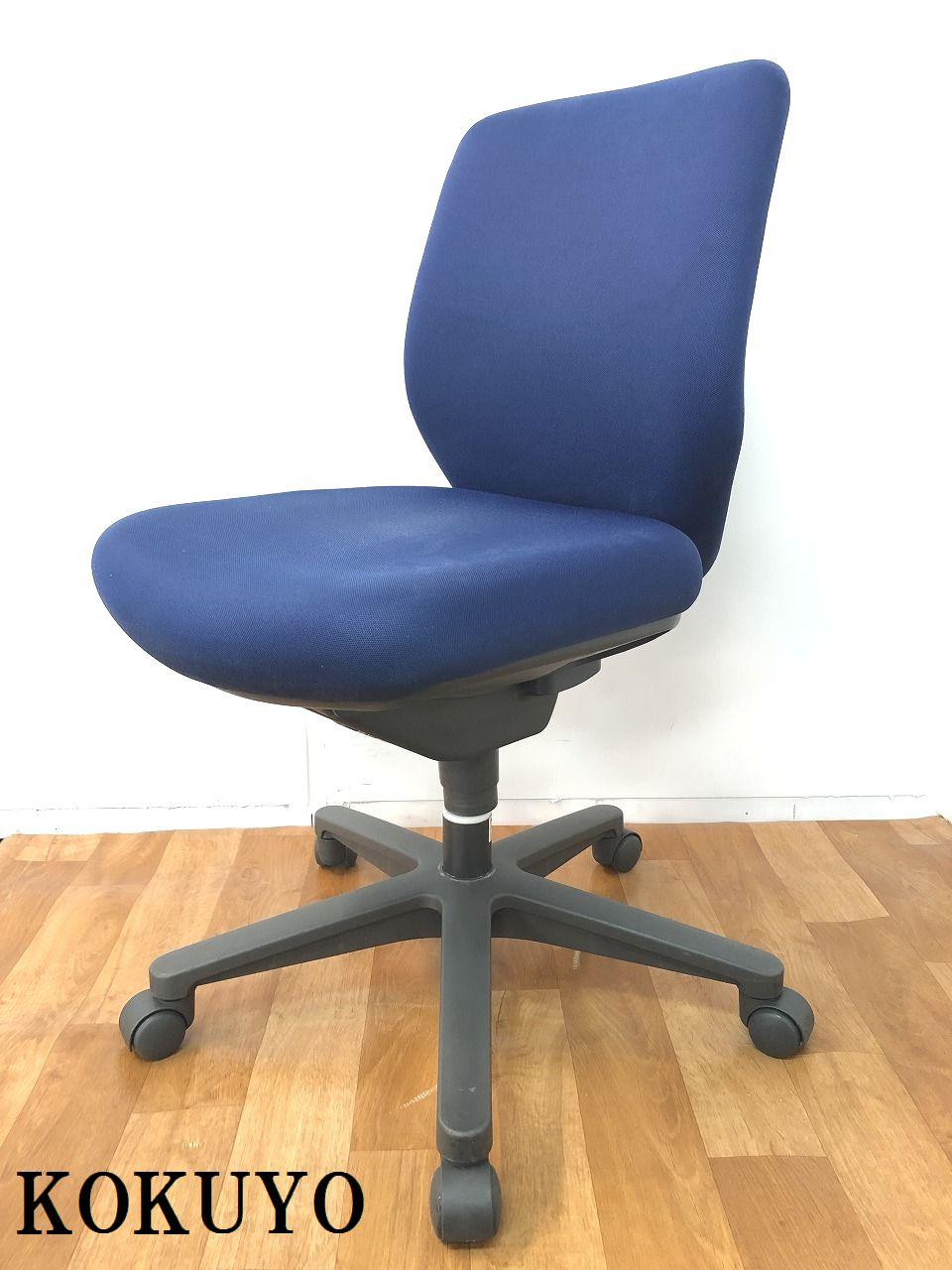 【ダブルクッション構造で快適な座り心地でサポートしてくれるOAチェアです!!】