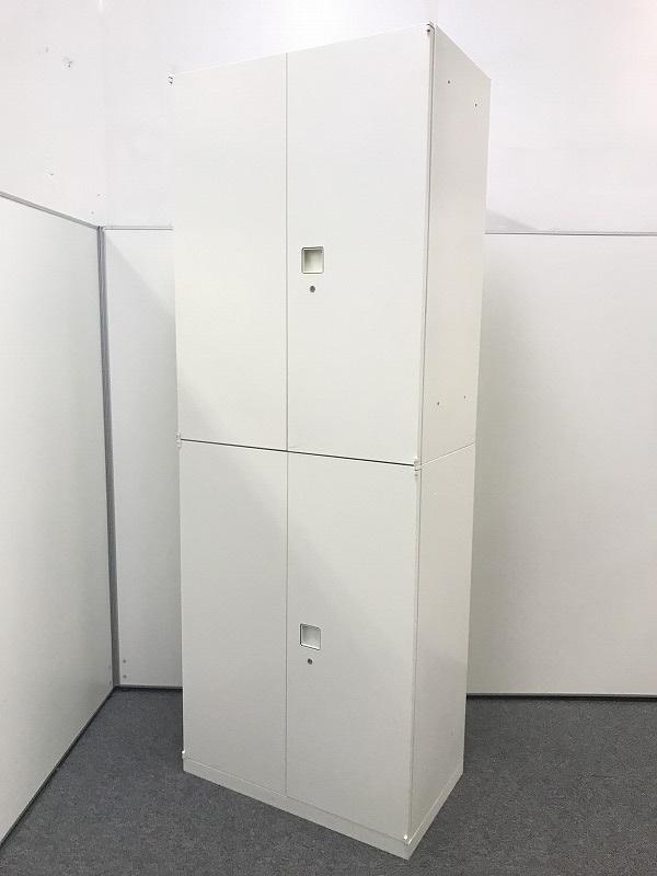 【人気のホワイト】オカムラ製 両開き×両開き 書庫セットがまとめて入荷しました!!