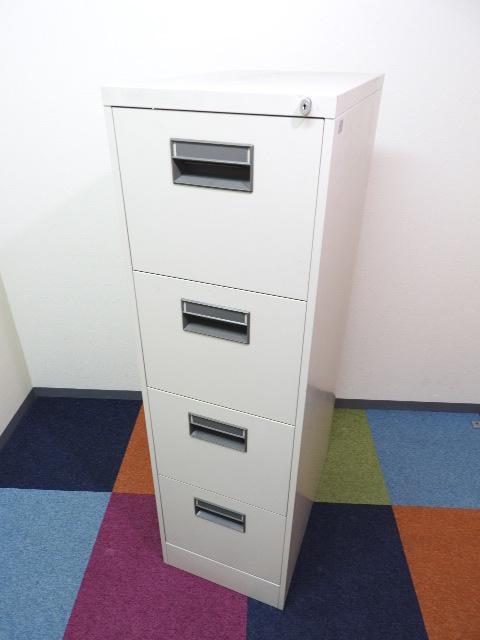 ■3段のファイルキャビネット■A4ファイル収納
