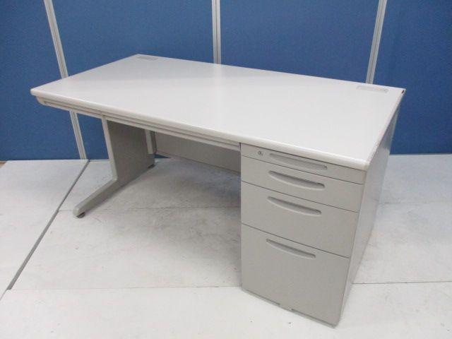 【広々とした作業スペースを!】上長席用にもおすすめ!幅1400mmの片袖机がまとめて入荷!