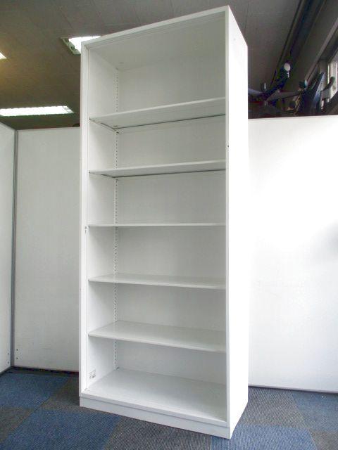 【限定1台の入荷】元は3枚引き戸書庫です!【扉を外しオープン書庫に】