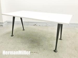 HermanMiller/ハーマンミラー アバック エンバイロメンツ ミーティングテーブル 白 W1600| (中古)