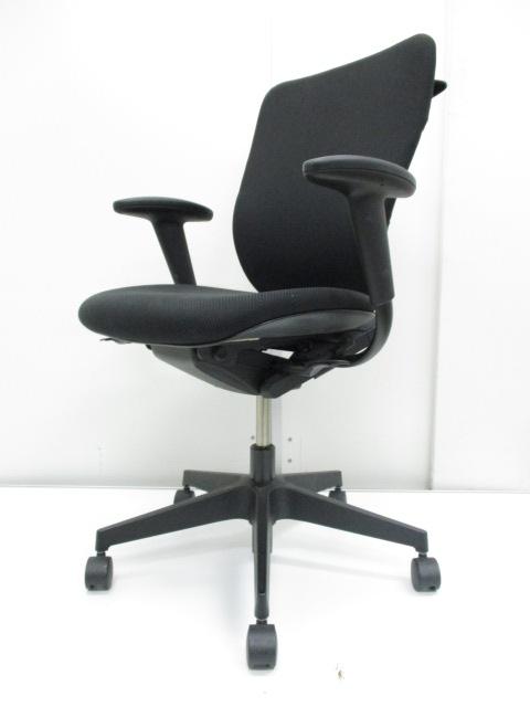 【腰痛対策、始めましょう】奥行き調整で快適な座り心地。営業マンにもオススメです【イトーキ/プラオ】