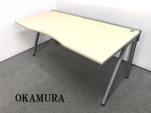 注目商品!!!【横幅1600mmナチュラル天板の高級デスクが入荷しました!!】