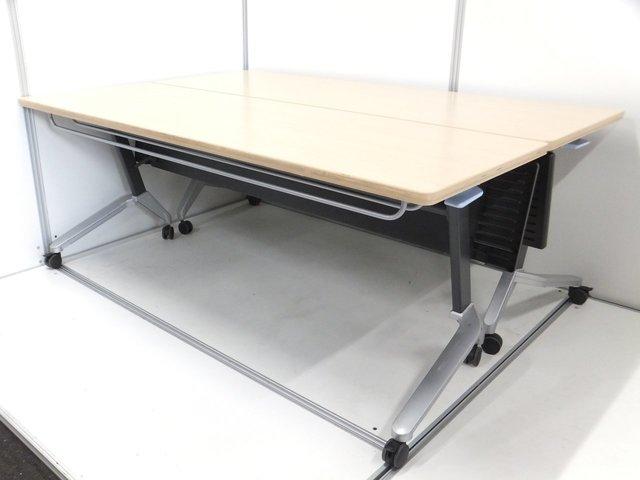 【2台セット】■コクヨ製・サイドスタックテーブル ■幅1800mm