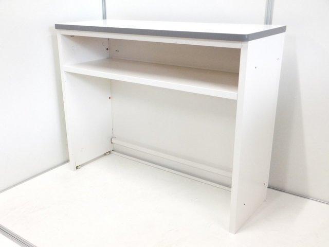 【ホワイトタイプでオフィス空間に清潔感と明るさを加えます!】ハイカウンター入荷!