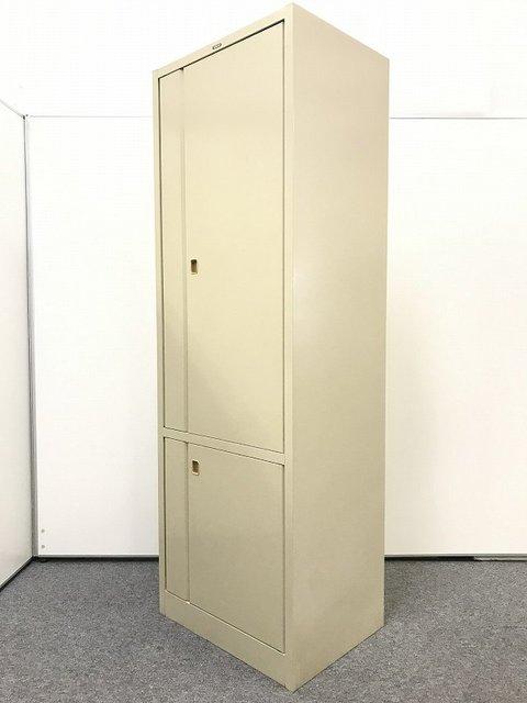 【1台入荷】キッチンキャビネット マジック扉 コクヨ製 食器やお茶請けの収納に