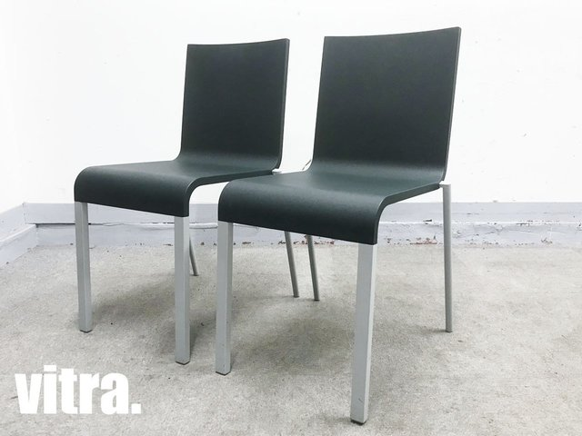 vitra/ヴィトラ 03チェア2脚セット 深緑 マールテン・ヴァン・セーヴェレン hhstyle