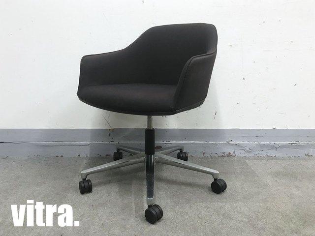 vitra/ヴィトラ SOFTSHELL CHAIR/ソフトシェルチェア hhstyle 黒