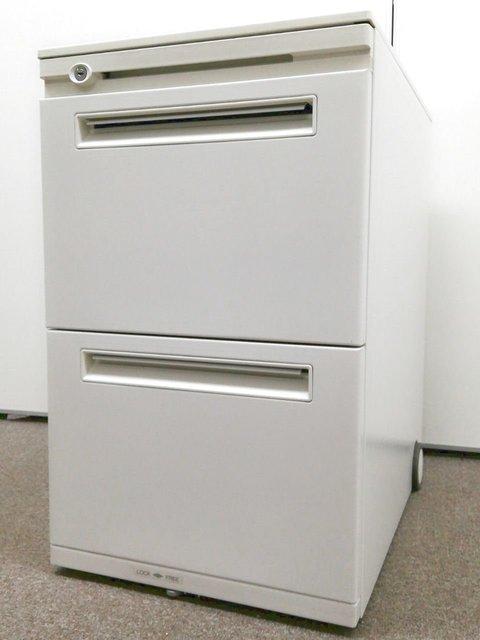 【ホワイトカラー3段ワゴン!】デスク周りの整理で業務効率UPへ! 内田製FEEDシリーズ
