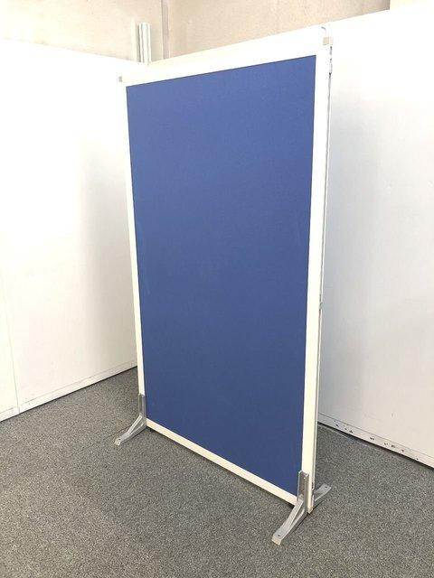 【高さ1500mmのブルー鮮やかなローパーテーションが入荷しました!!】