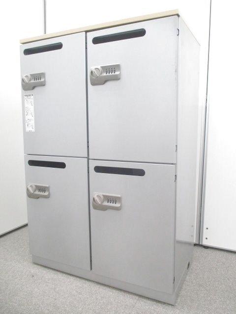 【日本橋店在庫品限定価格!残り1台!】【ロッカーに入れたまま充電できる!!】内部にコンセントが付いているメールロッカー|コクヨ製|安心の国内メーカー品