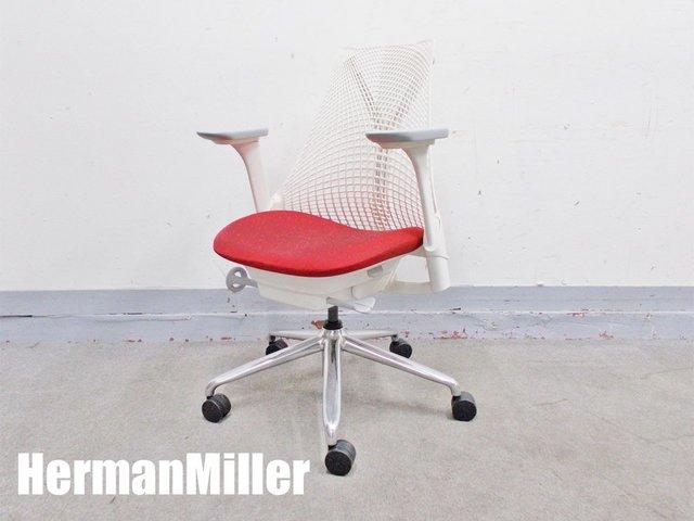 HermanMiller/ハーマンミラー セイルチェア 肘付 ホワイト AS1YA23AA