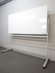 【幅広く使えます!】■プラス製 脚付ホワイトボード ■板面W1800mm 片面タイプ【パシャボ】