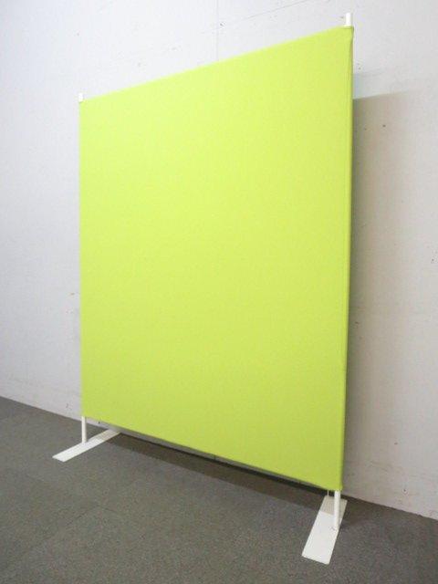 【人気商品!】■お問い合わせの多いローパーテーション ■グリーンカラー ■幅1200mmで丁度いいサイズ【軽量設計の布パネル】