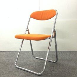 【1脚のみ】折りたたみパイプ椅子入荷!中古 OAチェア