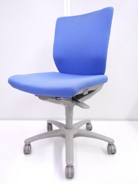 【定番事務椅子】オフィスチェア 肘なし ローバック【ローコストチェアでお探し方お勧め!】
